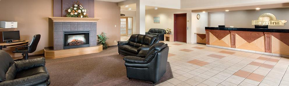 Hotel Lobby at Days Inn & Suites Thunder Bay