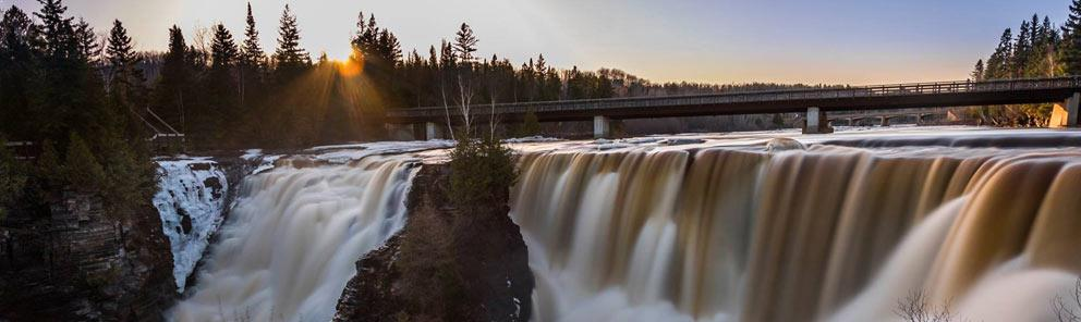 Kakabeka Falls near Thunder Bay, book a package to stay and save while you explore the area